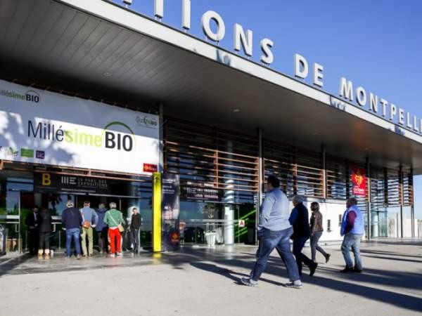 Salon Millésime bio-Montpellier 28 au 30 janvier 2019