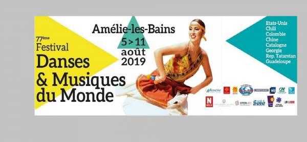 77e Festival Folklorique International d'Amélie-les-Bains Palalda-6 au 11 août 2019
