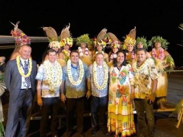 United effectue son voyage inaugural en reliant la Polynésie française au Golden Gate