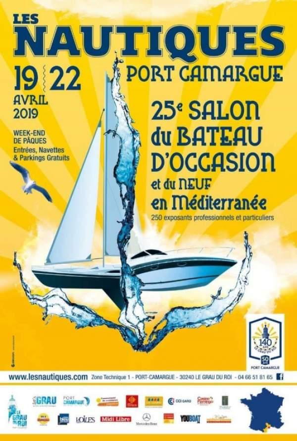 Les nautiques de Port Camargue-19/20/21/22 avril 2019