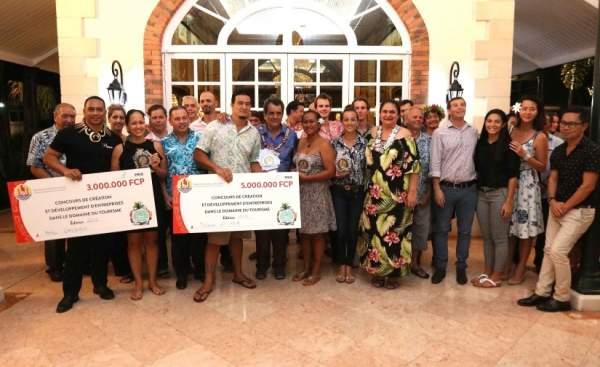 Destination Marquises remporte le 3ème prix du Concours de création et de développement des entreprises du Tourisme