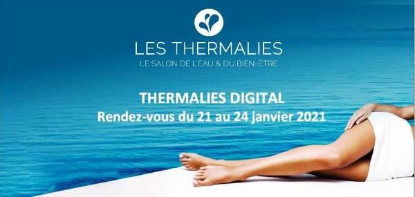 Salon des Thermalies-édition digitale- 21 au 24 janvier 2021.