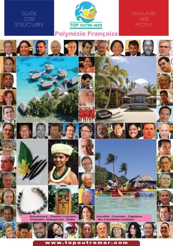 Les 48 maires élu(e)s de Polynésie française en 2020