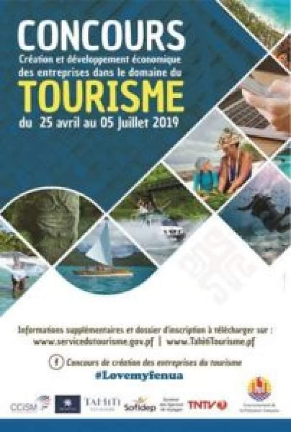 CONCOURS CRÉATION ET DÉVELOPPEMENT ECONOMIQUE DES ENTREPRISES DANS LE DOMAINE DU TOURISME