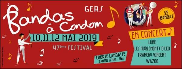 Bandas à Condom-10 au 12 mai 2019