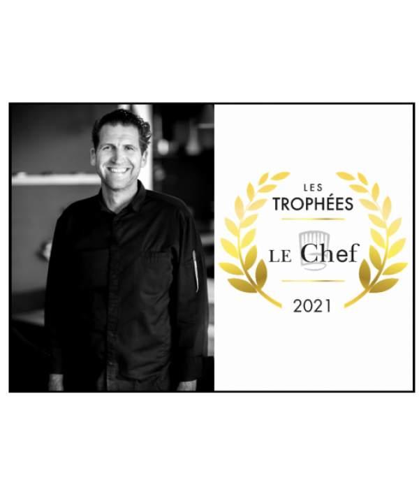 35ème cérémonie des trophées Le CHEF: Alexandre Mazzia , chef de l