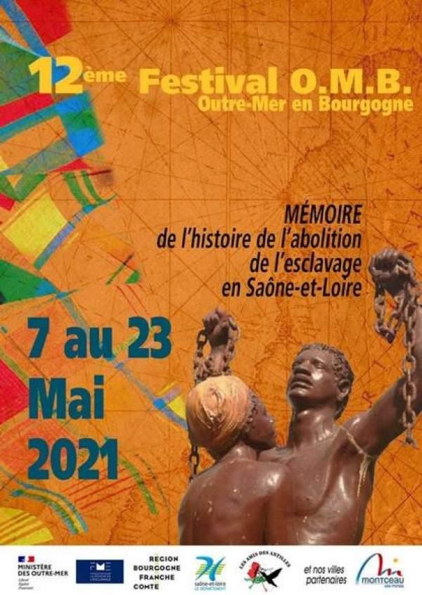 Festival Outre-mer Bourgogne- 7 au 23 mai 2021