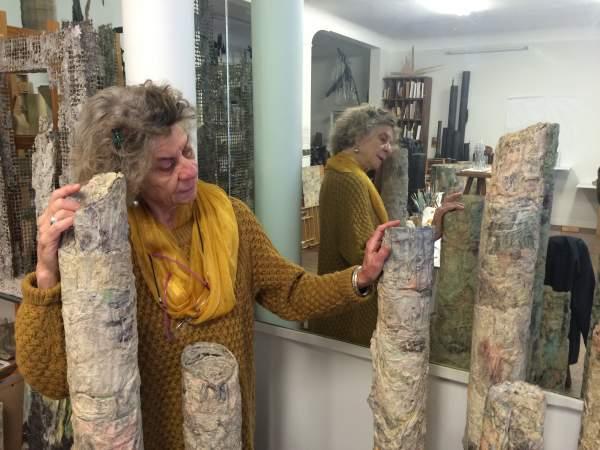 Mireille Vitry sculpteure-plasticienne réunionnaise s