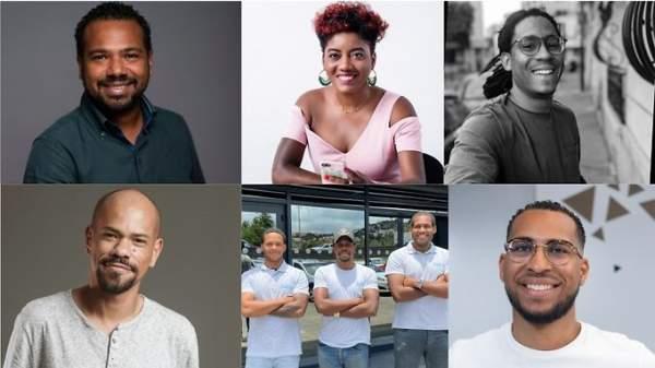 Les six lauréats de l'appel à projets « Plas Dijital » de la CTM