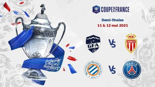 Coupe de France de football-1/4 de finale: Montpellier seul rescapé de l