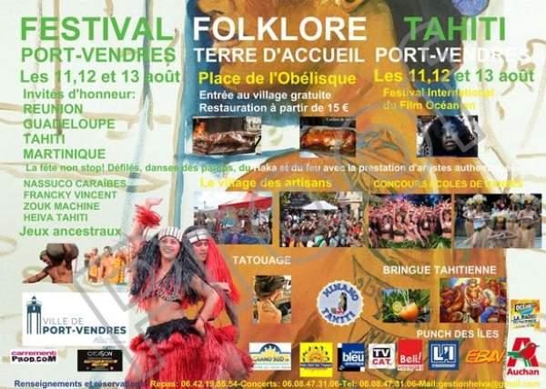 Festival folklorique de Tahiti et d