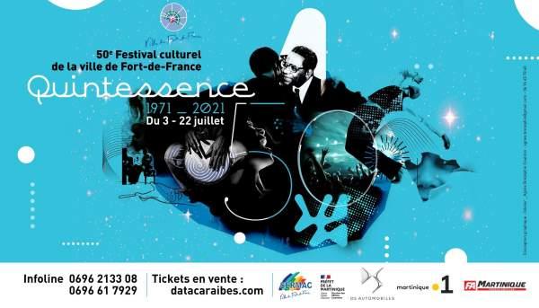 Festival culturel de Fort-de-France 3 au 22 juillet 2021
