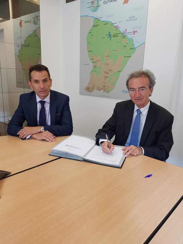 Développement économlque territorial : la Fédération des Entreprises des Outre-mer et la Banque des Territoires signent un partenariat spécifique pour le développement de l'outil de DATA -Territoriales au service des Outre -mer initié par la FEDOM