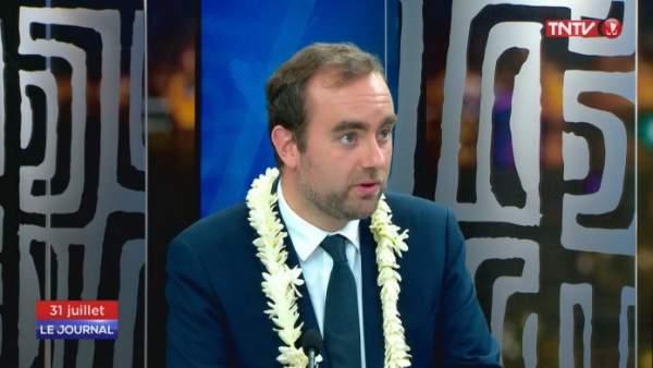 Agenda Sébastien Lecornu, ministre des Outre-mer-semaine du 19 juillet 2021.