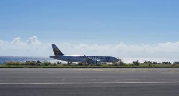 Air Austral réalise son premier vol commercial en A220-300 entre La Réunion et Mayotte