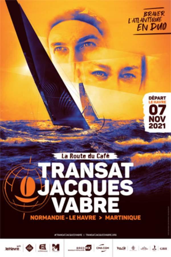 La Transat Jacques Vabre Normandie Le Havre 2021:cap sur la Martinique! la BRED partenaire .