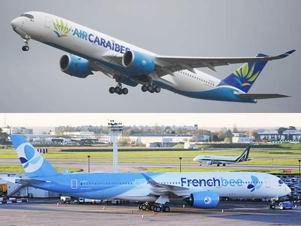 ÉTÉ 2021:programme AIR CARAIBES et FRENCH BEE vers LES DOM-TOM