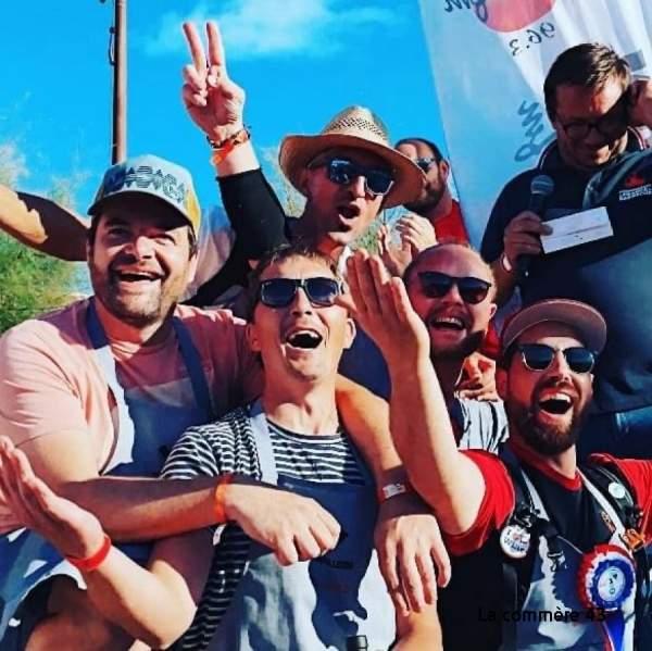 Championnat de France de barbecue: Les ripailleurs de Saint-Julien-Chapteuil (43)grand vainqueur