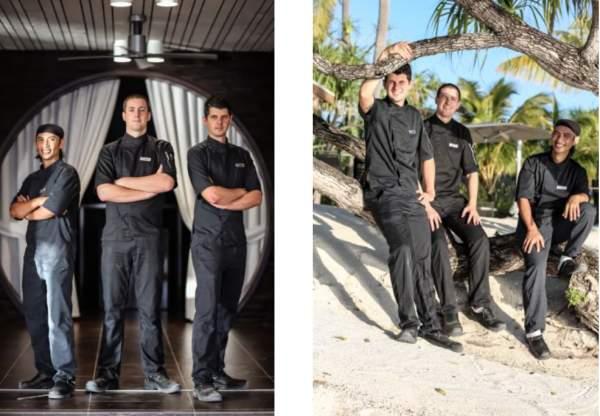 Une nouvelle équipe culinaire au Brando