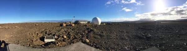 Inauguration du site Galileo de Kerguelen