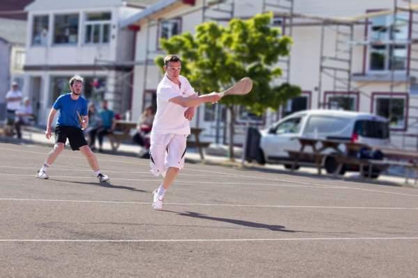La course des 25 km de Miquelon (juin)et le tournoi de Pelote basque (Paleta Gomme pleine)(aout) 2021