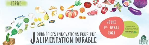 Le monde nouveau:Journéé alimentation durable -1 avril 2021