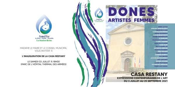 Expo DONES -Casa Restany-Amélie-les-bains 3 juillet au 25 septembre 2021